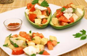 Spicy Avocado With Cheese