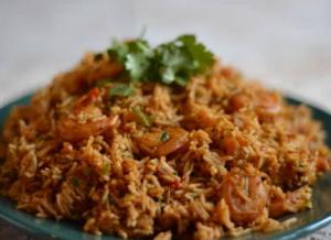 Savory Shrimp Pulao