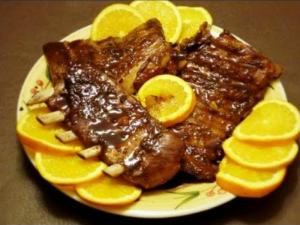 Baked Sweet Spare Ribs