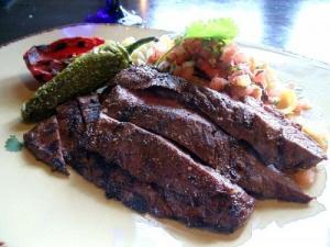 Korean Steak Strips Teriyaki
