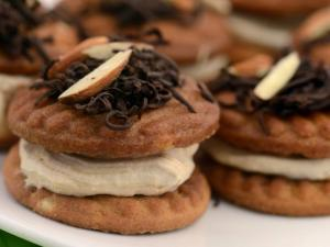Almond Cookie Tiramisu by Tarla Dalal