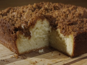 Vanilla Bean Coffee Cake