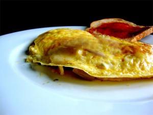 Gruyere Souffle Omelette
