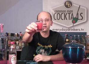 The Pink Polar Bear Cocktail