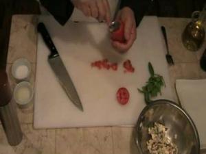 Caprese Salad Cup Appetizer