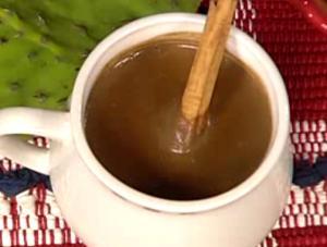 Hot Champurrado Drink