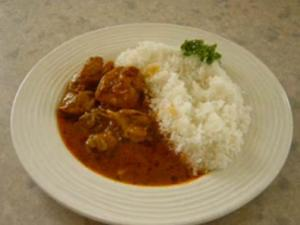 Indian Style Chicken Curry