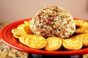 Wine And Cheese Ball