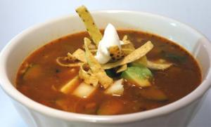 Dry Soup Of Tortillas With Tomatoes And Cheese