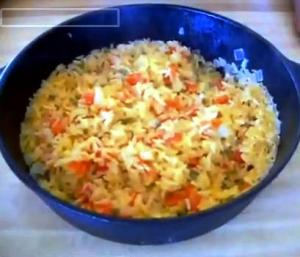 Real Texas Spanish Rice Part 1