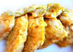 Korean Pollock Fish Pancakes
