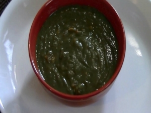 How to Make Saag - Indian Curry