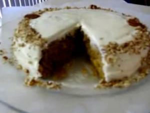 Solar Baked Carrot Cake Recipe