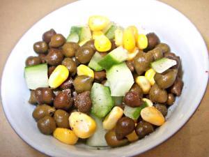 Green Bengal Gram Salad