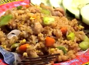Back Pork Fried Rice
