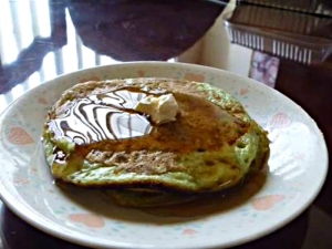 Green Tea Matcha Pancakes