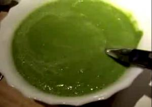 Raw Luminous Green Soup