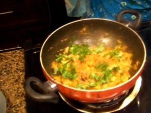 Eggplant Masala / Baingan Bharta Variation / Brinjal
