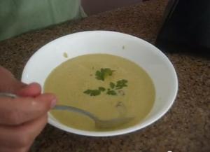 Creamy Spicy Baby Bella Mushroom Soup