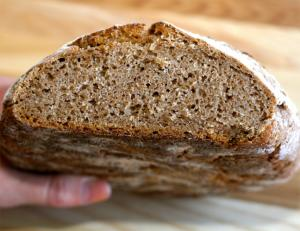 Sourdough Honey Wheat Bread