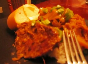 Southern Style Smothered Cabbage and Pork Chops