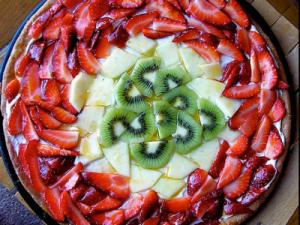 Easy Glaze Fruit Torte