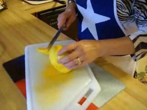 Real Texas Mango Avocado Salsa Part 1 of 2