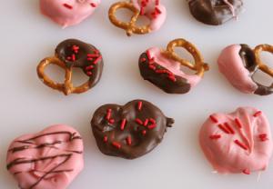 Valentines day snacks