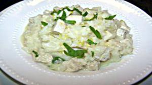 Chicken Cauliflower Risotto