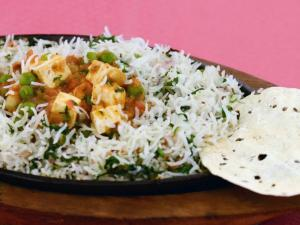 Rice and Curry Sizzler