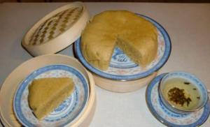 Cantonese Steamed Sponge Cake ( Ma Lai Go ) Dim Sum