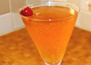 Brandy Sour With Maraschino