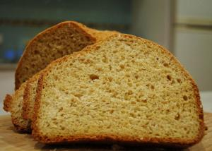 Three Wheat Batter Bread