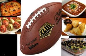 Super Bowl Sunday Menu