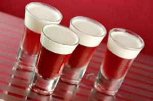 Apple Vodka Jello Shot