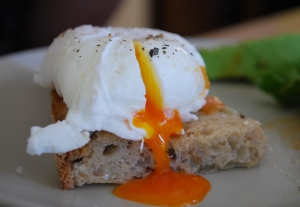 Microwave Poached Eggs
