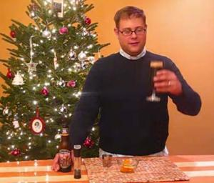 Rum and Beer Cocktail
