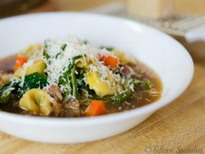 Easy Weeknight Tortellini Soup
