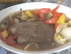 Mango Mushroom Slow Cooker Pot Roast
