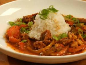Jambalaya with Meat and Veggies