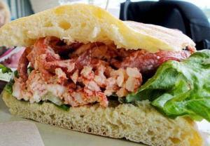 Tropical Crab Sandwiches