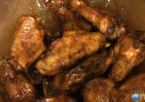 In the Kitchen with Ken - Barbecue Sauced Wings