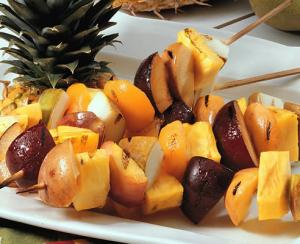 Fruity Grilled Skewers
