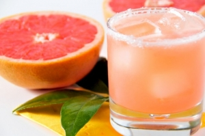 Easy grapefruit cocktails