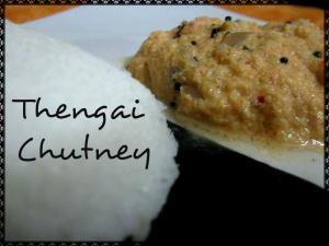 Thengai Chutney - 2