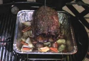 Grilled Rib Roast
