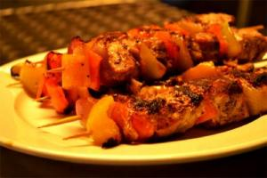 Jewel Of The Nile Chicken Kebabs
