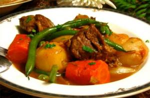 Lamb Stew — Oven Style