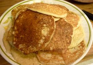 Whole Wheat Soy Pancakes