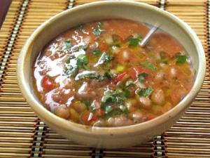 Peppery Garbanzo Bean Soup